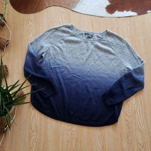 Vince ombre cashmere blend